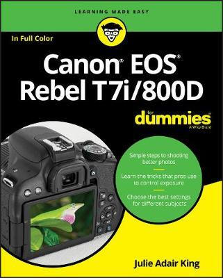 Canon EOS Rebel T7i/800D For Dummies (BOK)