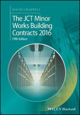 JCT Minor Works Building Contracts 2016 (BOK)