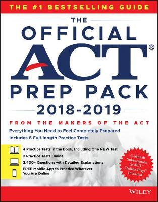 Official ACT Prep Pack with 6 Full Practice Tests (4 in Offi (BOK)