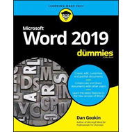 Word 2019 For Dummies (BOK)