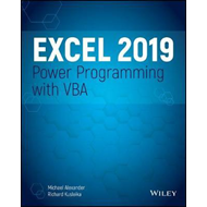 Excel 2019 Power Programming with VBA (BOK)
