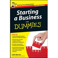 Starting a Business for Dummies, UK Edition (BOK)