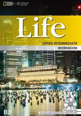 Life Upper Intermediate: Workbook with Key and Audio CD (BOK)