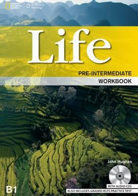 Life Pre-Intermediate: Workbook with Key and Audio CD (BOK)