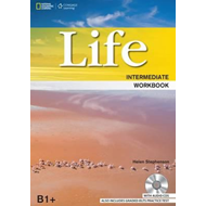 Life Intermediate: Workbook with Key and Audio CD (BOK)