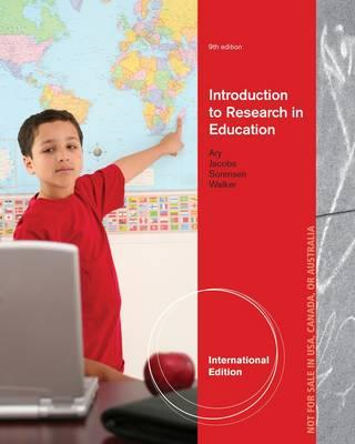 Introduction to Research in Education (BOK)
