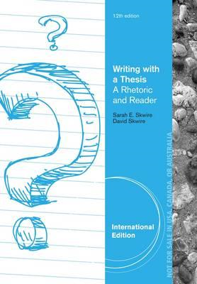 Writing with a Thesis (BOK)