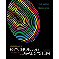 Wrightsman's Psychology and the Legal System, International (BOK)