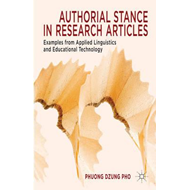 Authorial Stance in Research Articles: Examples from Applied Linguistics and Educational Technology (BOK)