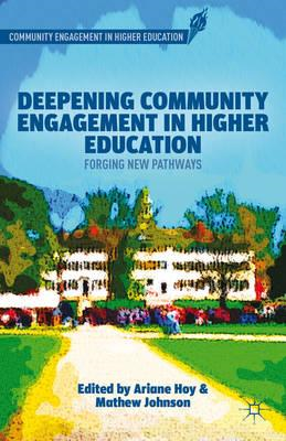 Deepening Community Engagement in Higher Education: Forging New Pathways (BOK)