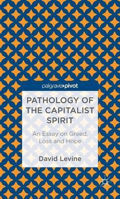 Pathology of the Capitalist Spirit: An Essay on Greed, Loss and Hope (BOK)