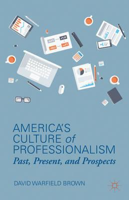 America's Culture of Professionalism: Past, Present, and Prospects (BOK)