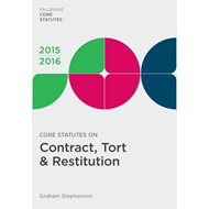 Core Statutes on Contract, Tort & Restitution (BOK)