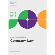 Core Statutes on Company Law (BOK)