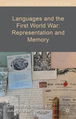 Languages and the First World War: Representation and Memory (BOK)