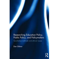 Researching Education Policy, Public Policy, and Policymaker (BOK)