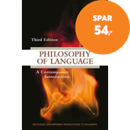 Produktbilde for Philosophy of Language - A Contemporary Introduction (BOK)