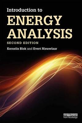 Introduction to Energy Analysis (BOK)
