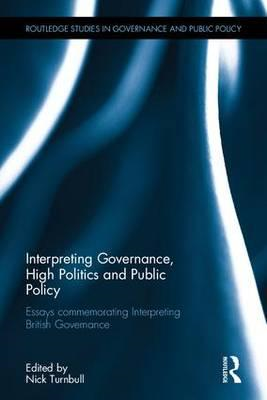 To Interpreting Governance, High Politics, and Public Policy (BOK)
