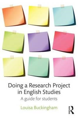 Doing a Research Project in English Studies (BOK)