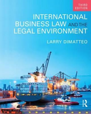 International Business Law and the Legal Environment (BOK)