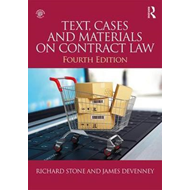 Text, Cases and Materials on Contract Law (BOK)