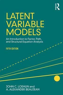 Latent Variable Models (BOK)