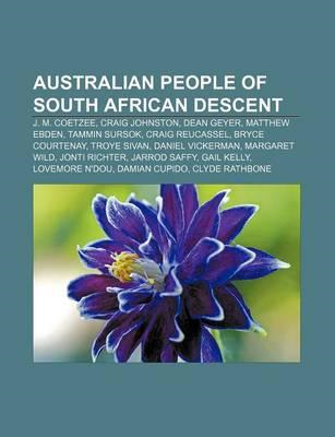 Australian People of South African Descent (BOK)