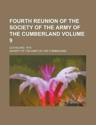 Fourth Reunion of the Society of the Army of the Cumberland; (BOK)