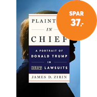 Produktbilde for Plaintiff in Chief - A Portrait of Donald Trump in 3,500 Lawsuits (BOK)
