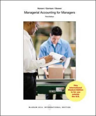 Managerial Accounting for Managers (BOK)
