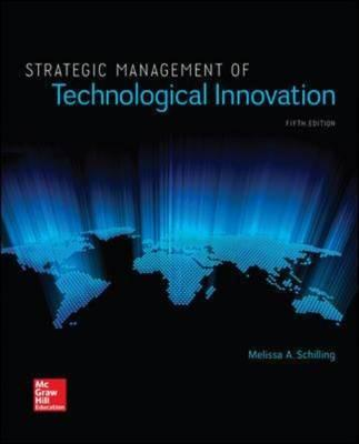 Strategic Management of Technological Innovation (BOK)