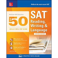 McGraw-Hill Education Top 50 Skills for a Top Score: SAT Rea (BOK)