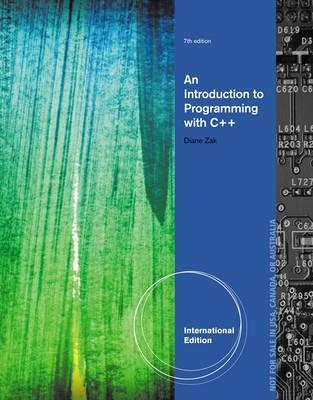 Introduction to Programming with C++ (BOK)