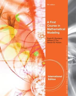 A First Course in Mathematical Modeling (BOK)