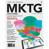 MKTG 7 (with CourseMate with Career Transitions Printed Acce (BOK)