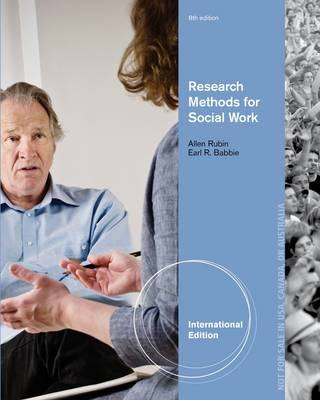 Brooks/Cole Empowerment Series: Research Methods for Social Work (BOK)