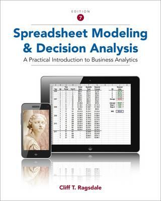 Spreadsheet Modeling and Decision Analysis (BOK)