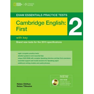 Exam Essentials: Cambridge First Practice Tests 2 w/key + DV (BOK)