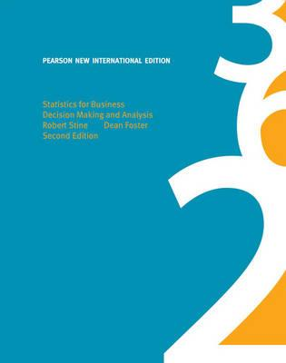 Statistics for Business: Pearson New International Edition (BOK)