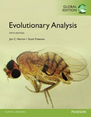 Evolutionary Analysis, Global Edition (BOK)
