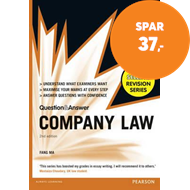 Produktbilde for Law Express Question and Answer: Company Law (Q&A revision guide) (BOK)