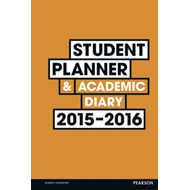 Student Planner and Academic Diary 2015-2016 (BOK)