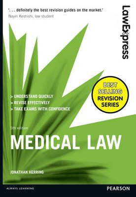 Law Express: Medical Law (BOK)