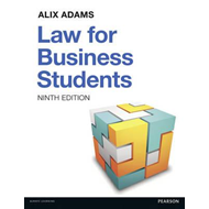 Law for Business Students (BOK)