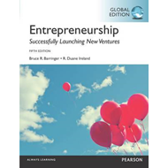 Entrepreneurship, Global Edition (BOK)