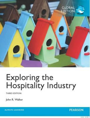Exploring the Hospitality Industry, Global Edition (BOK)