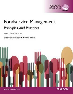 Foodservice Management: Principles and Practices, Global Edi (BOK)