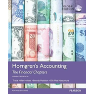 Horngren's Accounting, the Financial Chapters (BOK)