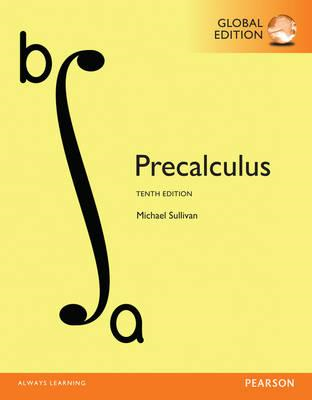 Precalculus, Global Edition (BOK)